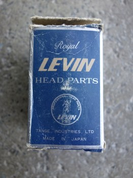 Tange Levin Royal British threaded headset in chrome
