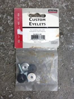 Blackburn custom eyelets mudguard mounts