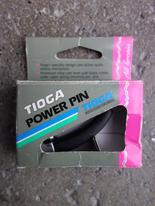 Tioga Power Pin seat quick release