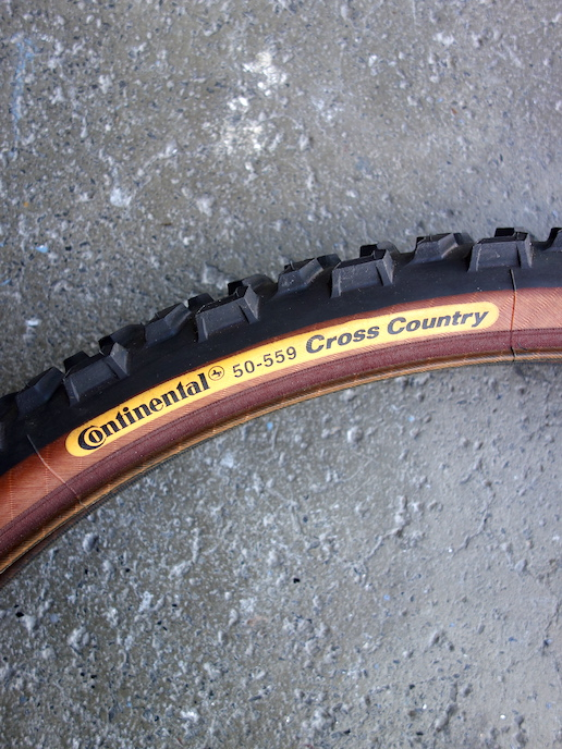 "Continental Cross Country 26"" MTB tyre"