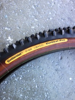 "Continental Vertical Pro 26"" MTB tyre"