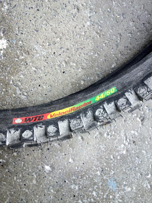"WTB Velociraptor front 26"" MTB tyre"