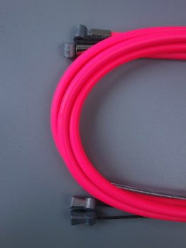 Casiraghi MTB brake cable sets – Neon pink
