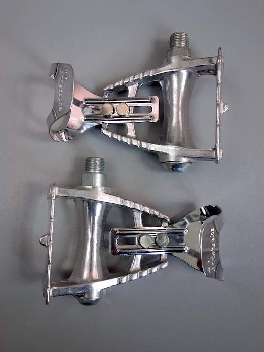 Maillard CXC 550 pedals with mini toe clips