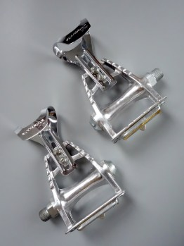 Maillard CXC 650 pedals with mini toe clips