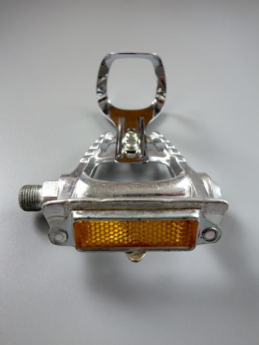 Maillard CXC 650 pedals with mini toe clips