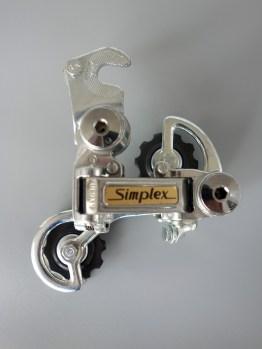 Simplex SX 610 GT rear mech