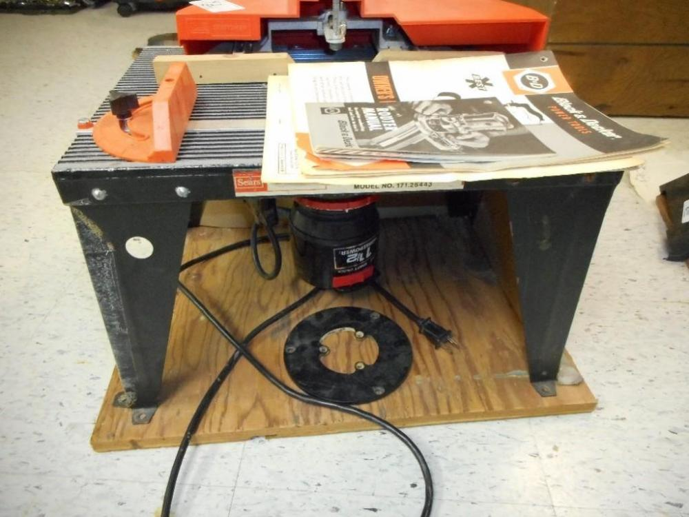 Black And Decker Router Table Manual