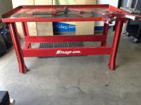 Snap-On metal transmission work bench - Current price: $370