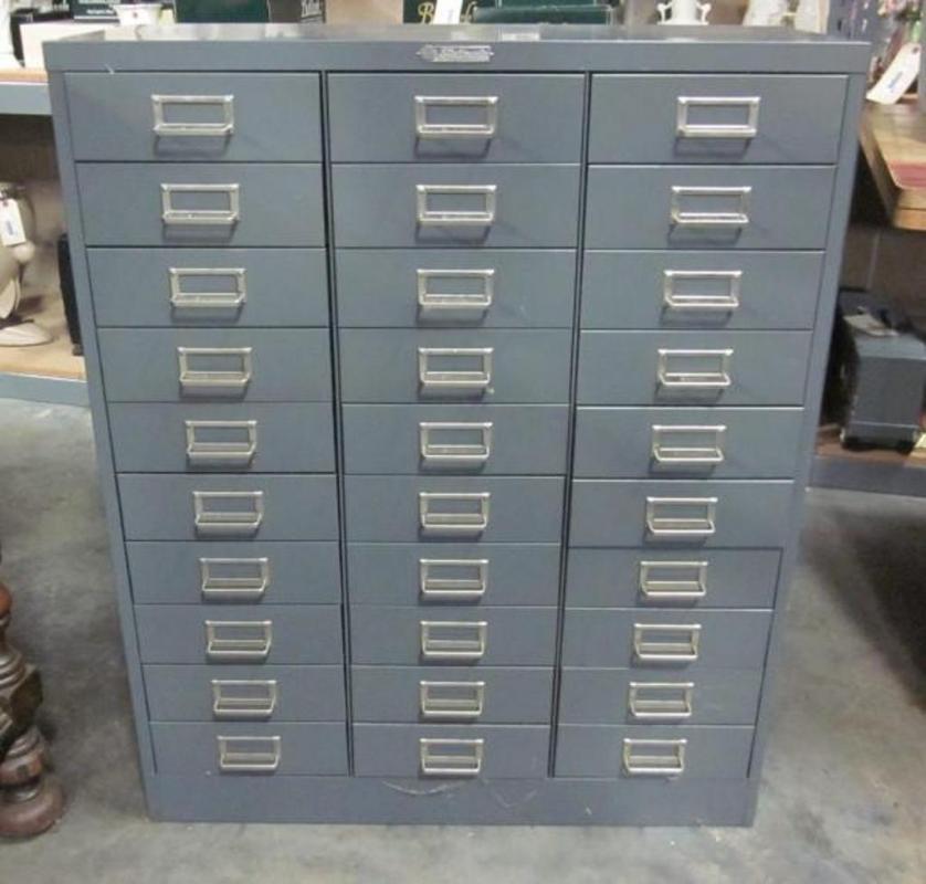 Steelmaster 30Drawer Filing Cabinet 30W x 365H x 12D