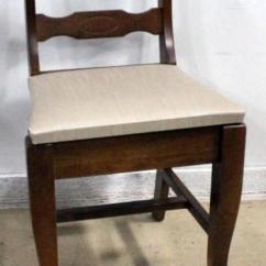 Antique Sewing Chair Organizer Pockets With Flip Open Storage Seat 16 W X 27 H Lot 294 Of 405