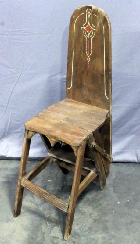 chair step stool ironing board cheap ladder back chairs antique jefferson bachelor lot 26 of 242