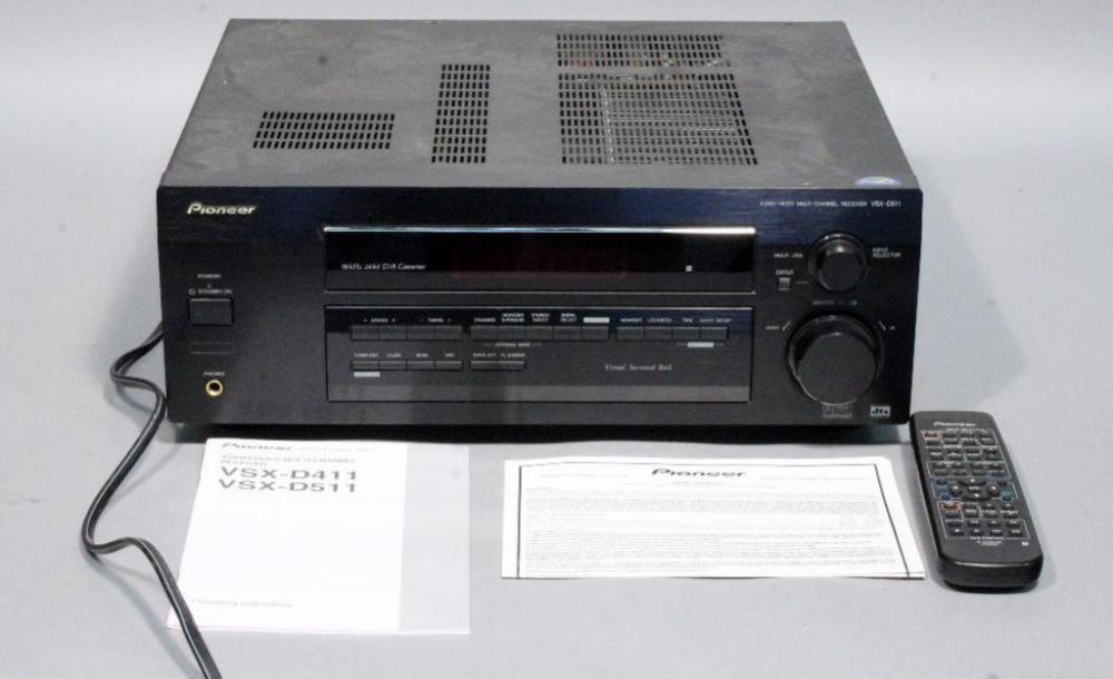pioneer radio manual b tree index in oracle with diagram vsx d511 audio video home theater multi channel receiver lot 170 of 341 and remote