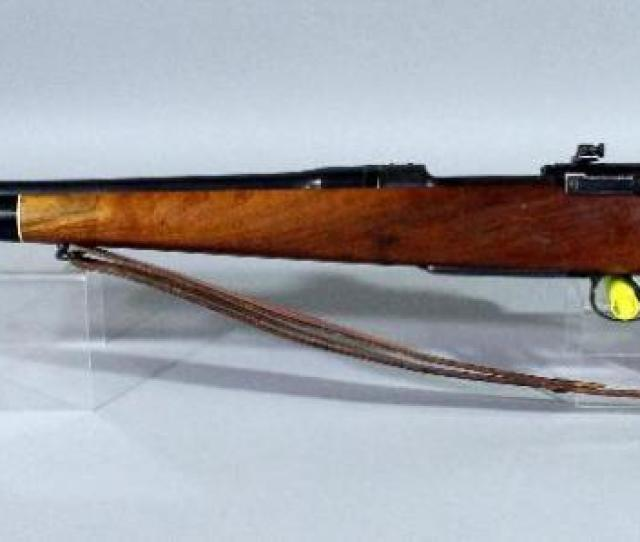 Lot 27a Of 463 Eddystone Us Model Of 1917 Enfield Bolt Action Rifle 30  Leather Sling