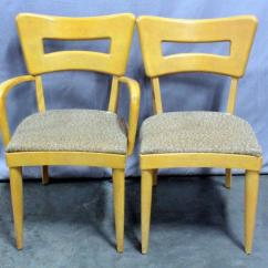 Heywood Wakefield Dogbone Chairs Graco Wooden High Chair Mid Century Dog Bone Captain S Dining Lot 2 Of 249 Total Qty