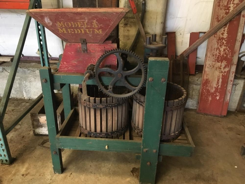 Antique Apple Cider Press For Sale