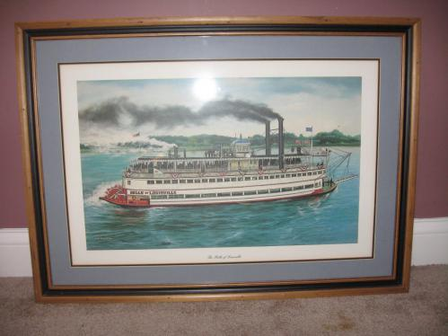 CW Vittitow The Belle of Louisville Framed Print  Current price 20