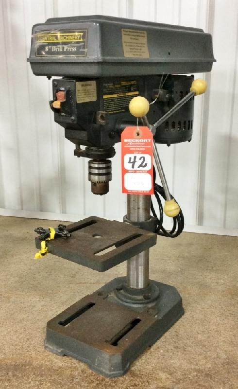 Central Machinery Jointer For Sale