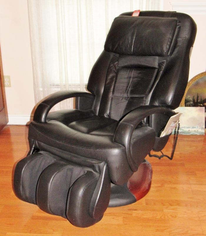 sharper image massage chairs teal blue accent chair ht 270 human touch robotic current price 375
