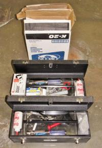 Carpet Laying Tools & Supplies - Current price: $100