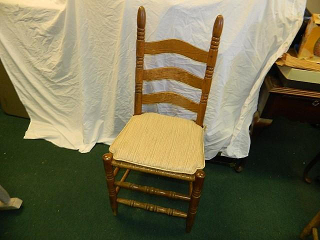 antique ladder back chairs with rush seats harmony high chair vintage seat lot 1160 of 627
