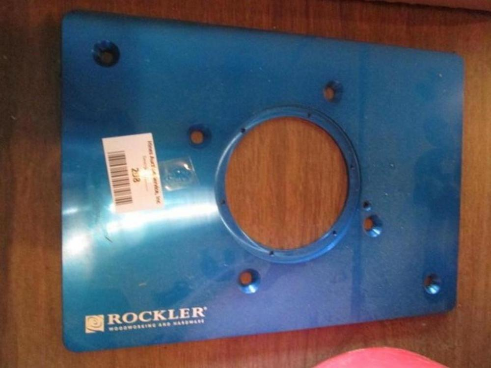 Rockler Router Plate