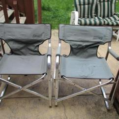 Coleman Portable Deck Chair Traditional Kitchen Table And Chairs 2 Lot 425 Of 129