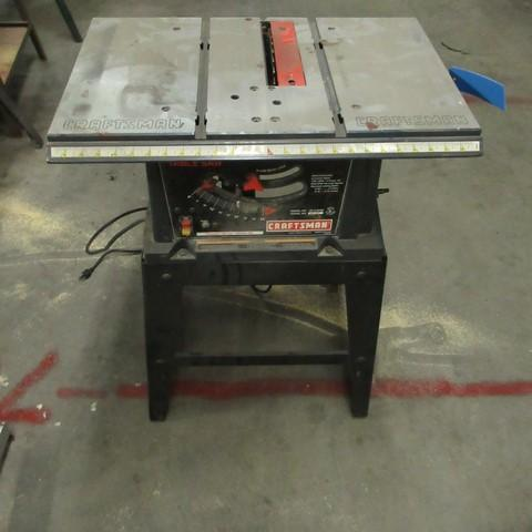 Craftsman Table Saw Model 137218780