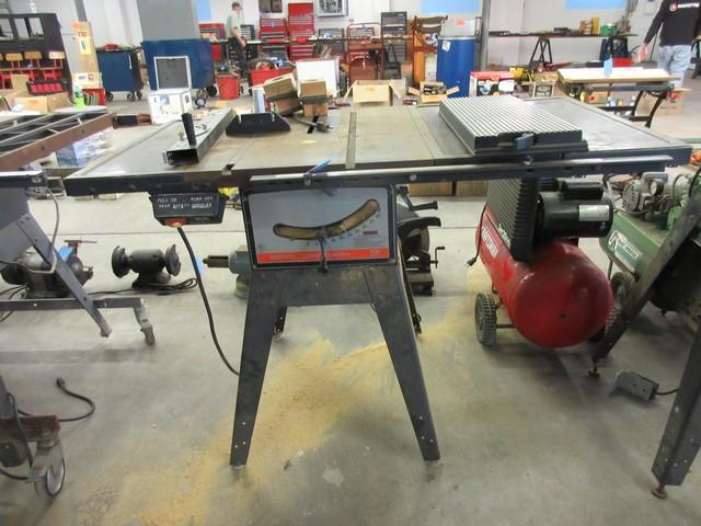Belt Driven Table Saw For Sale