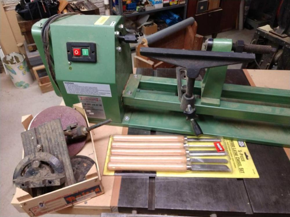 Central Machinery Lathe Tools