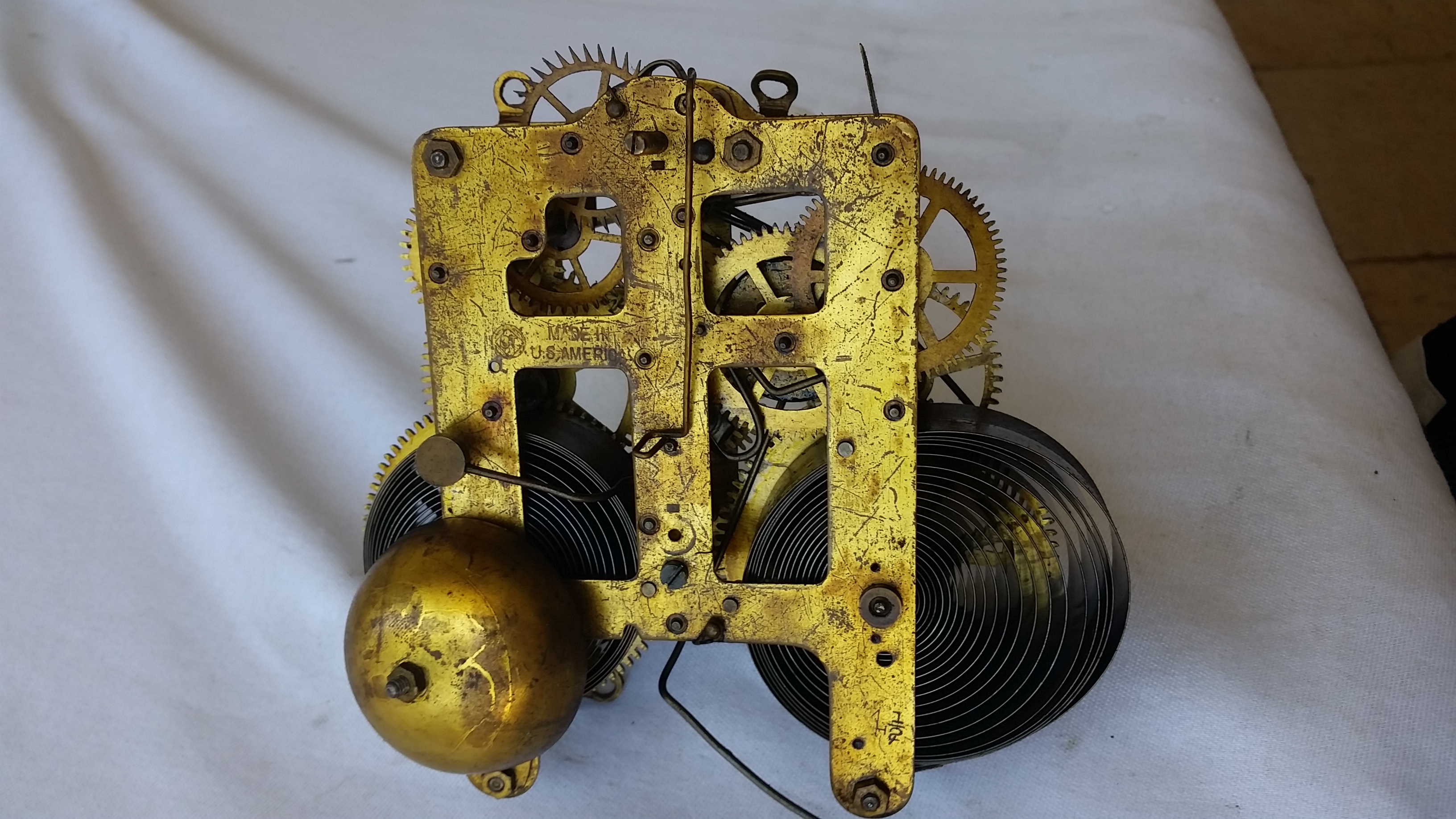 Seth Thomas Spare Clock Parts For Antique And Vintage