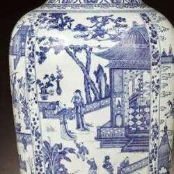 Kangxi period SOldier Vase