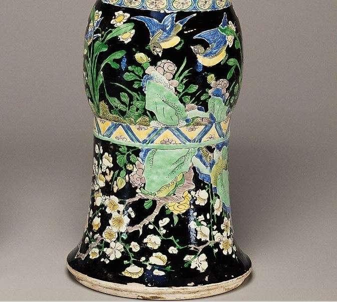 Chinese kangxi Dynasty Zun Beaker vase