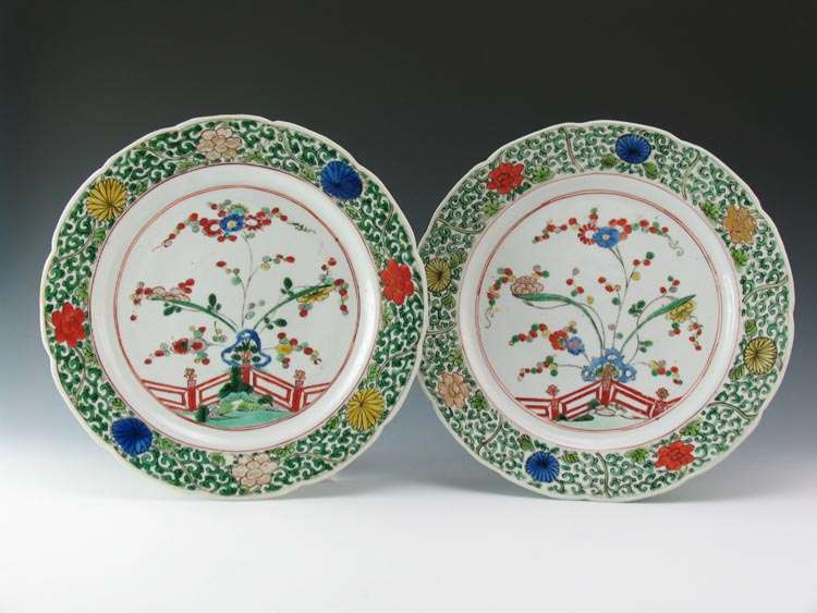 18th C. Chinese PLates