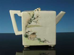 19th C. Chinese Inscribed Teapot