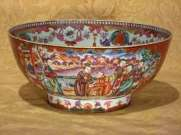 18th C. Rose mandarin Bowl