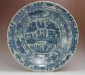 Ming Dynasty Swatow Blue and White Bowl