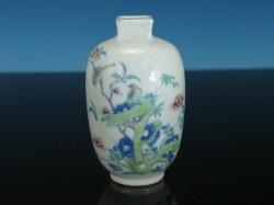 Chinese Yongzheng Period Doucai Bottle