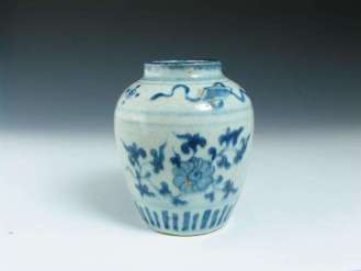 Provincial Ming Blue and White Jar