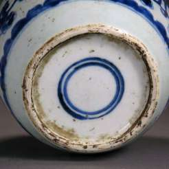 18th C. Chinese Blue and White Tea Jar