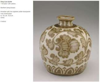 Northern Song Ding Ware Bottle