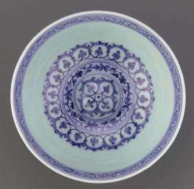 Ming Xuande Lotus Bowl interior