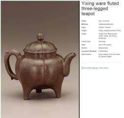 Ming Dynasty Yixing by Yu-Ch'uan