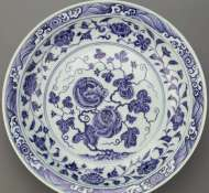 Ming Dynasty Yongle Period Dish