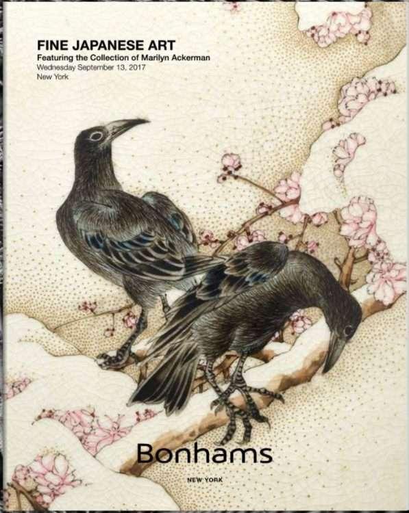 auction o fine japanese art in New York