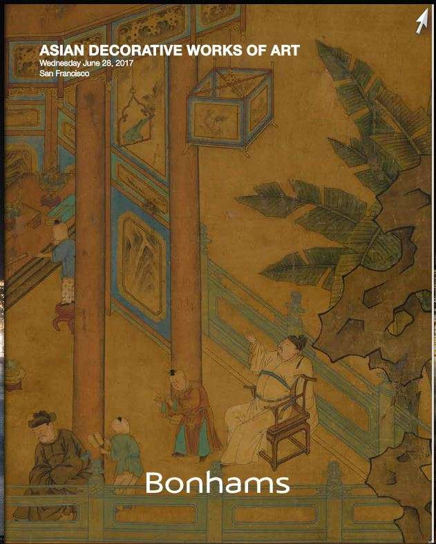 Auction Asian decorative art