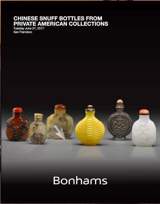 Chinese snuff bottle auction