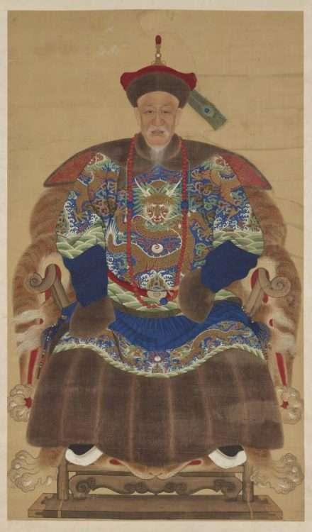 Chinese Winter Robe