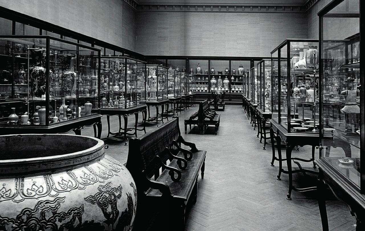 The Metropolitan Museum Chinese Department, Circa 1900
