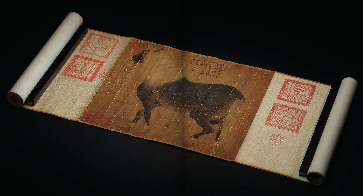 HAN GAN Horse Handscroll